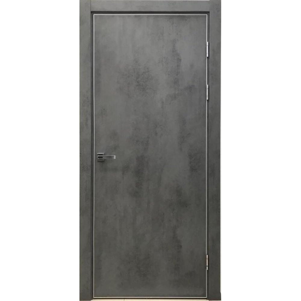 Дверь межкомнатная под бетон купить полированный бетон калининград